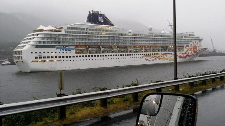Norwegian Cruise Lines in Ketchikan Alaska