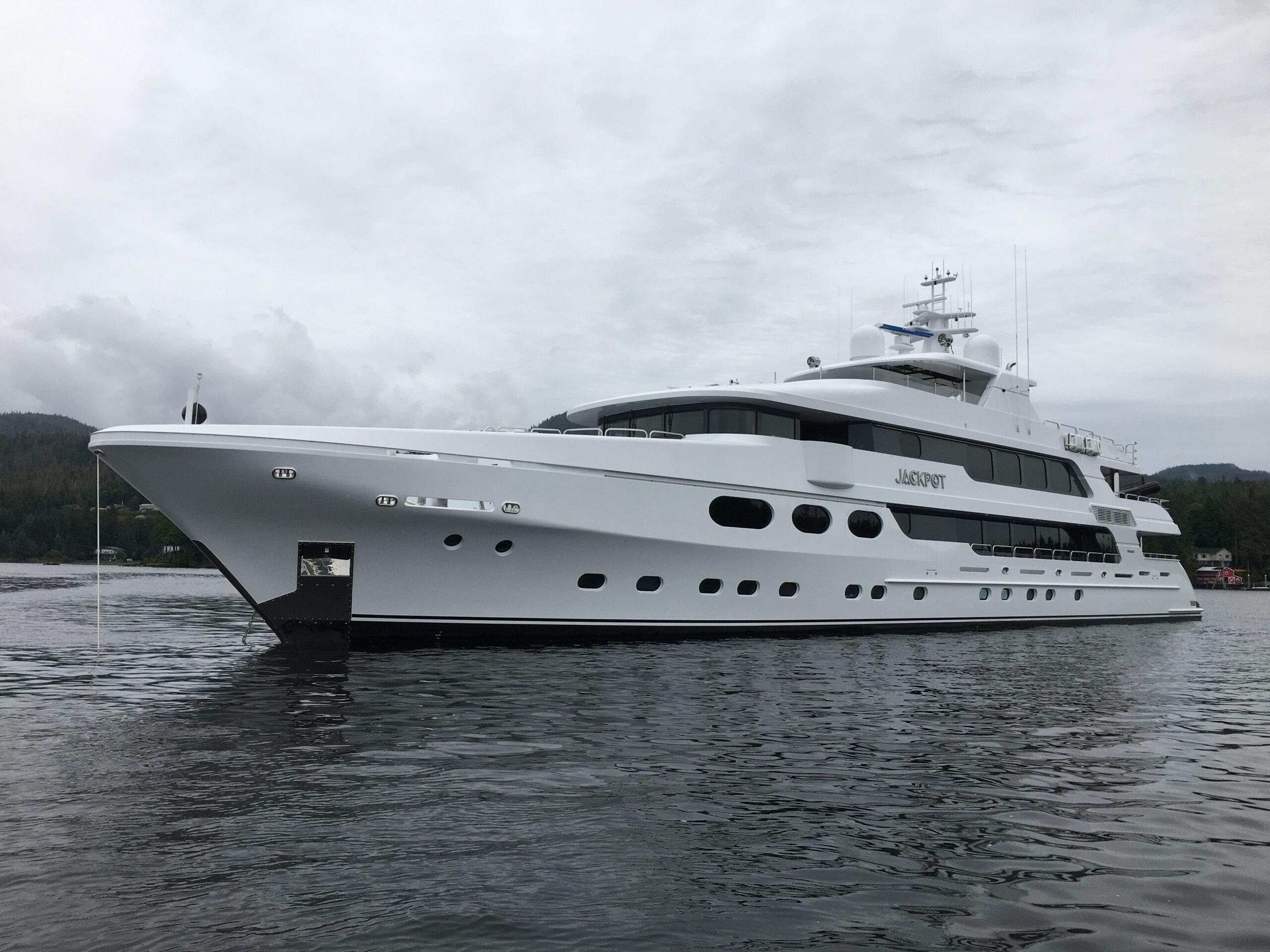 Christensen 50m motor yacht Jackpot