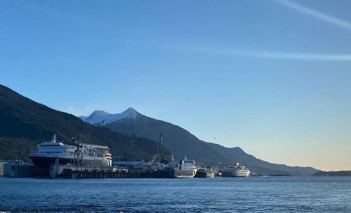 Ferry, Alaska Marine Highway, Vigor, Shipyard, Ketchikan, Alaska