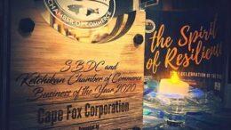 Cape Fox, Ketchikan, Alaska, Chamber of Commercxe