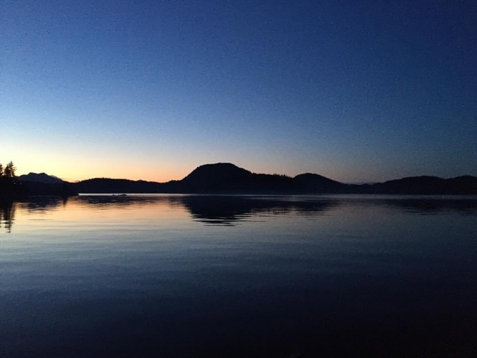 Ketchikan, Alaska, Knudson Cove, Sunset, Ocean