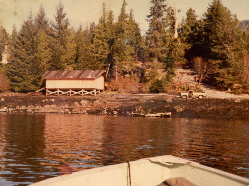Snapper Carson, Knudson Cove, Historical Photo